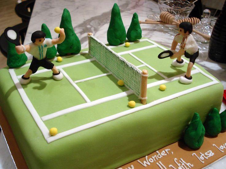 Awe Inspiring 11 Tennis Cakes Designs For Women Photo Tennis Birthday Cake Funny Birthday Cards Online Alyptdamsfinfo