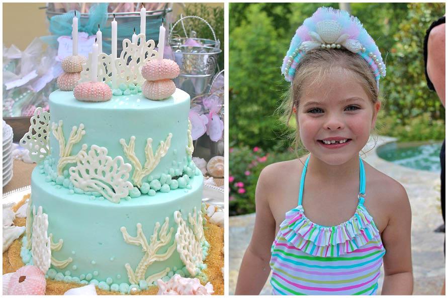 13 Elegant Under The Sea Cakes Photo Beautiful Mermaid Cake Under