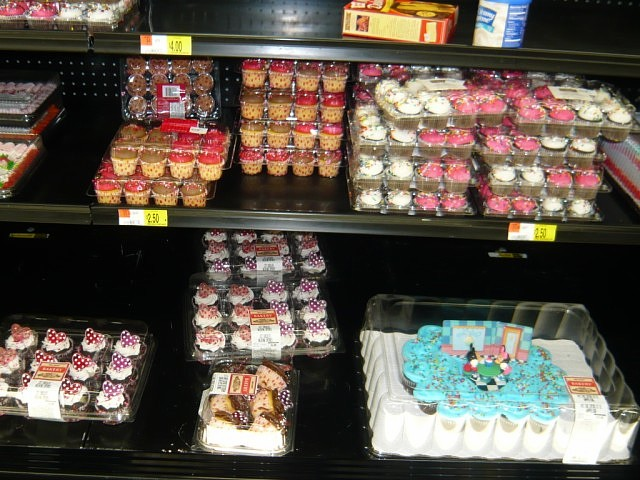 Pleasing 11 Wal Mart Cupcakes Photo Walmart Bakery Birthday Cakes Personalised Birthday Cards Paralily Jamesorg