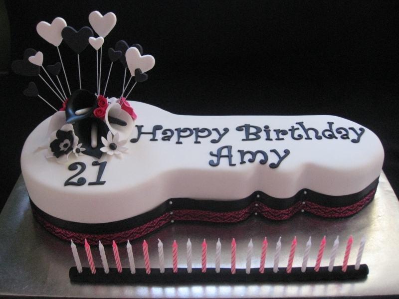 7 21st Birthday Cakes Product Photo Girls 21st Birthday Cake Ideas