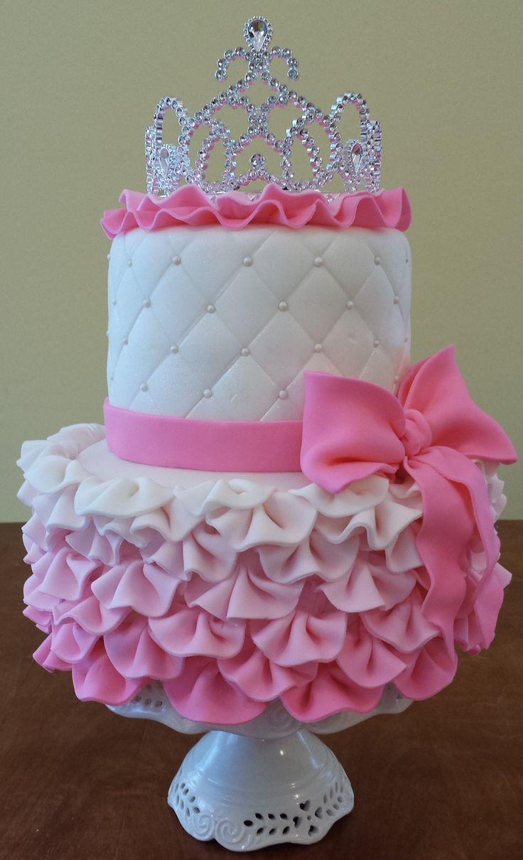 10 Baby Girl Princess Cakes Photo Baby Girl Princess Birthday Cake