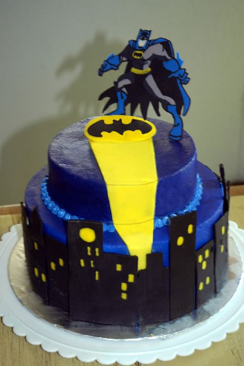 10 Cool Batman Cakes Photo - Batman Wedding Cake, Cool Batman ...