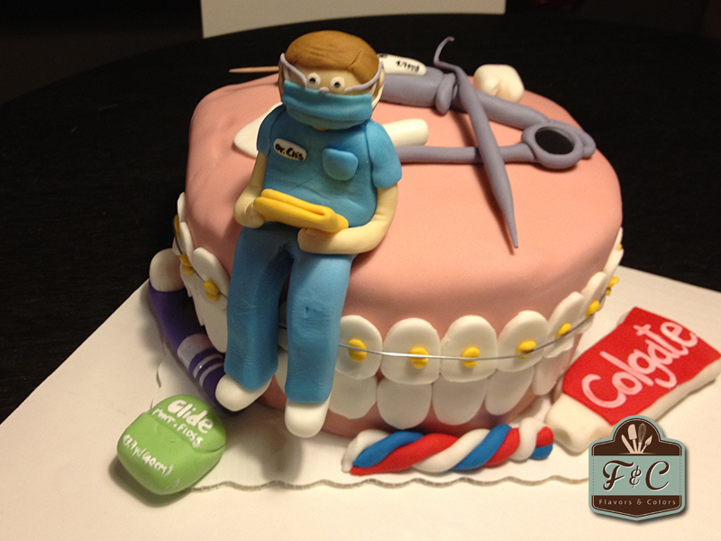 9 Decorated Cakes For A Dentist Photo
