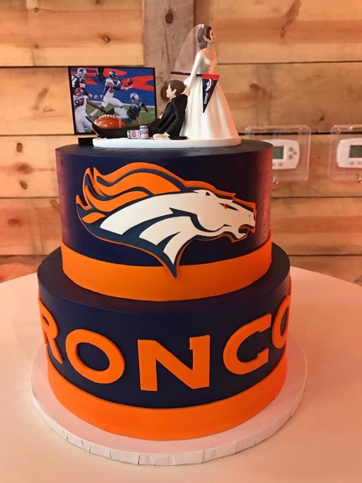 10 Best Birthday Cakes Denver Photo Denver Broncos Birthday Cake