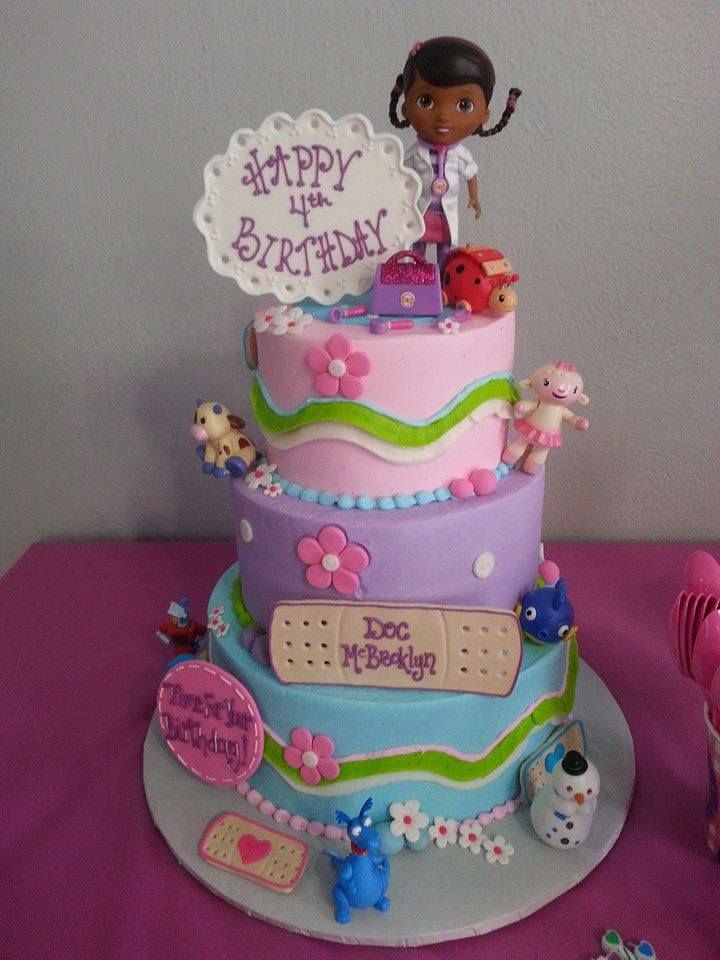 Astounding 7 Who Has Doc Mcstuffins Cakes Photo Doc Mcstuffins Cake Doc Funny Birthday Cards Online Inifodamsfinfo