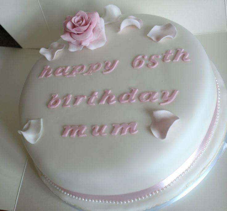 Stupendous 12 Simple Birthday Cakes For Women Photo Girls Birthday Cake Personalised Birthday Cards Veneteletsinfo