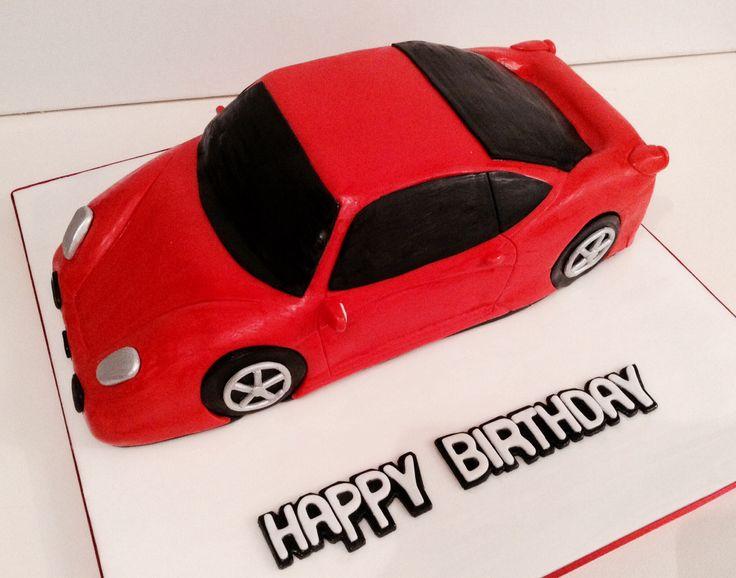 6 Cars Birthday Cakes Men Photo Boy Car Birthday Cake Ferrari Car