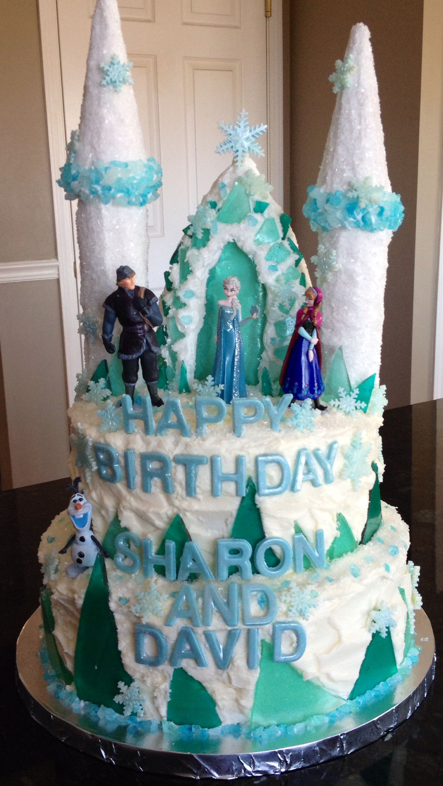 6 Princess Elsa Ice Queen Cakes Decorations Photo Frozen Disney