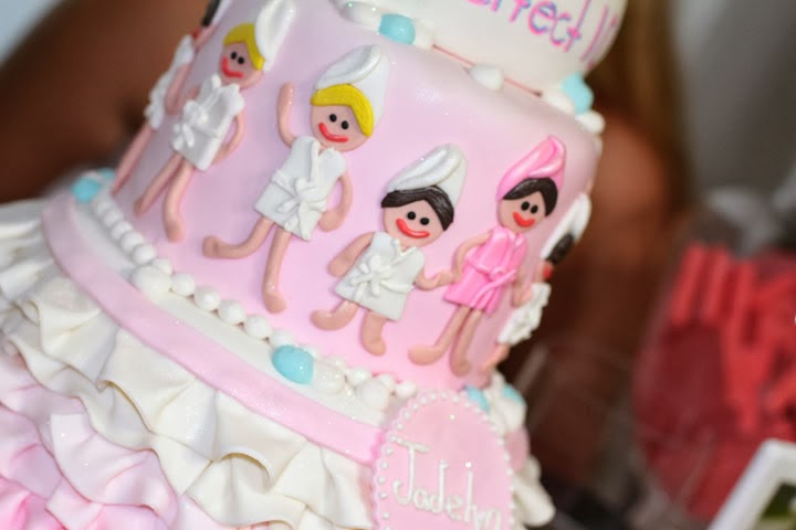 Incredible 8 Ella Spa Birthday Cakes Photo Girl Spa Birthday Cake Candy Personalised Birthday Cards Xaembasilily Jamesorg