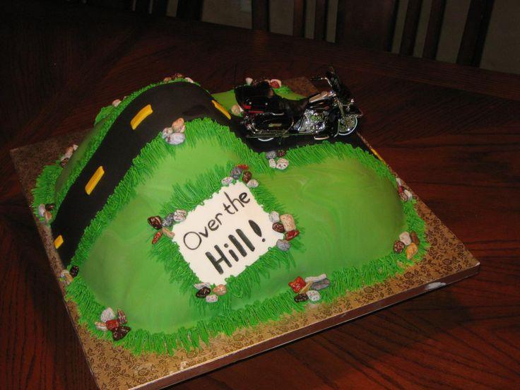 Sensational 12 Over The Hill Cakes For Men Photo Man 50Th Birthday Cake Personalised Birthday Cards Vishlily Jamesorg