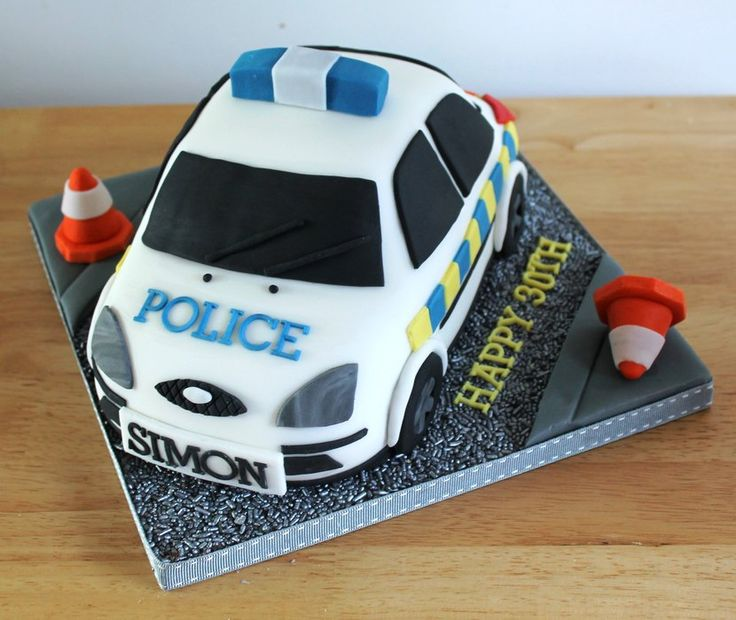 9 Police Bus Cakes Photo Police Car Cake Police Car Cake And Fire