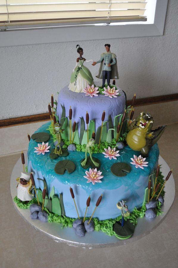 10 3d Cakes Princess And The Frog Photo Princess Tiana Cake 3d
