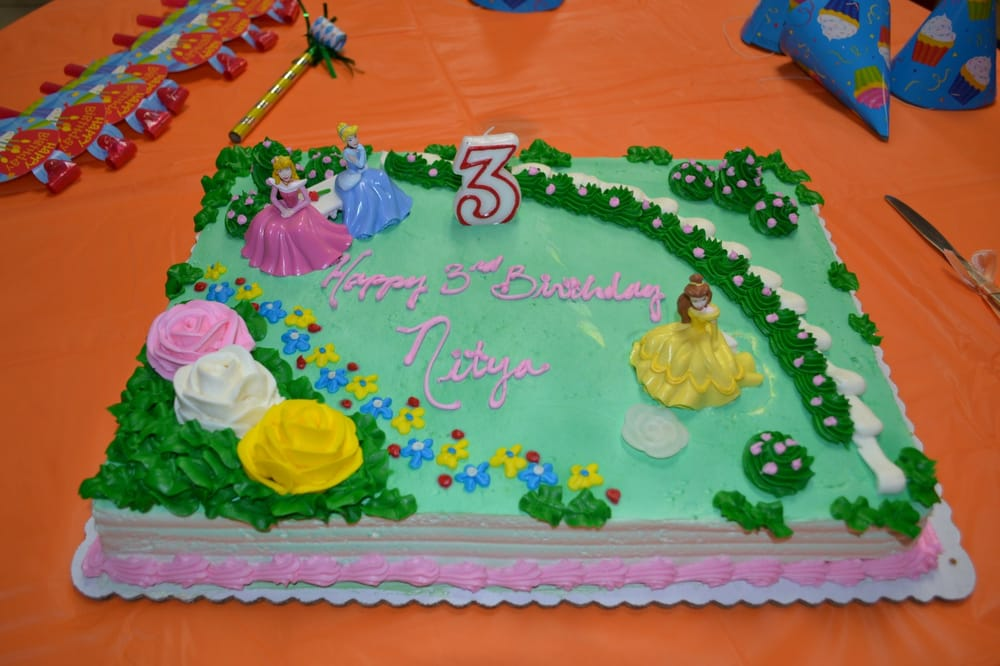 8 Safeway Birthday Cakes Of Princesses Photo Disney Princess