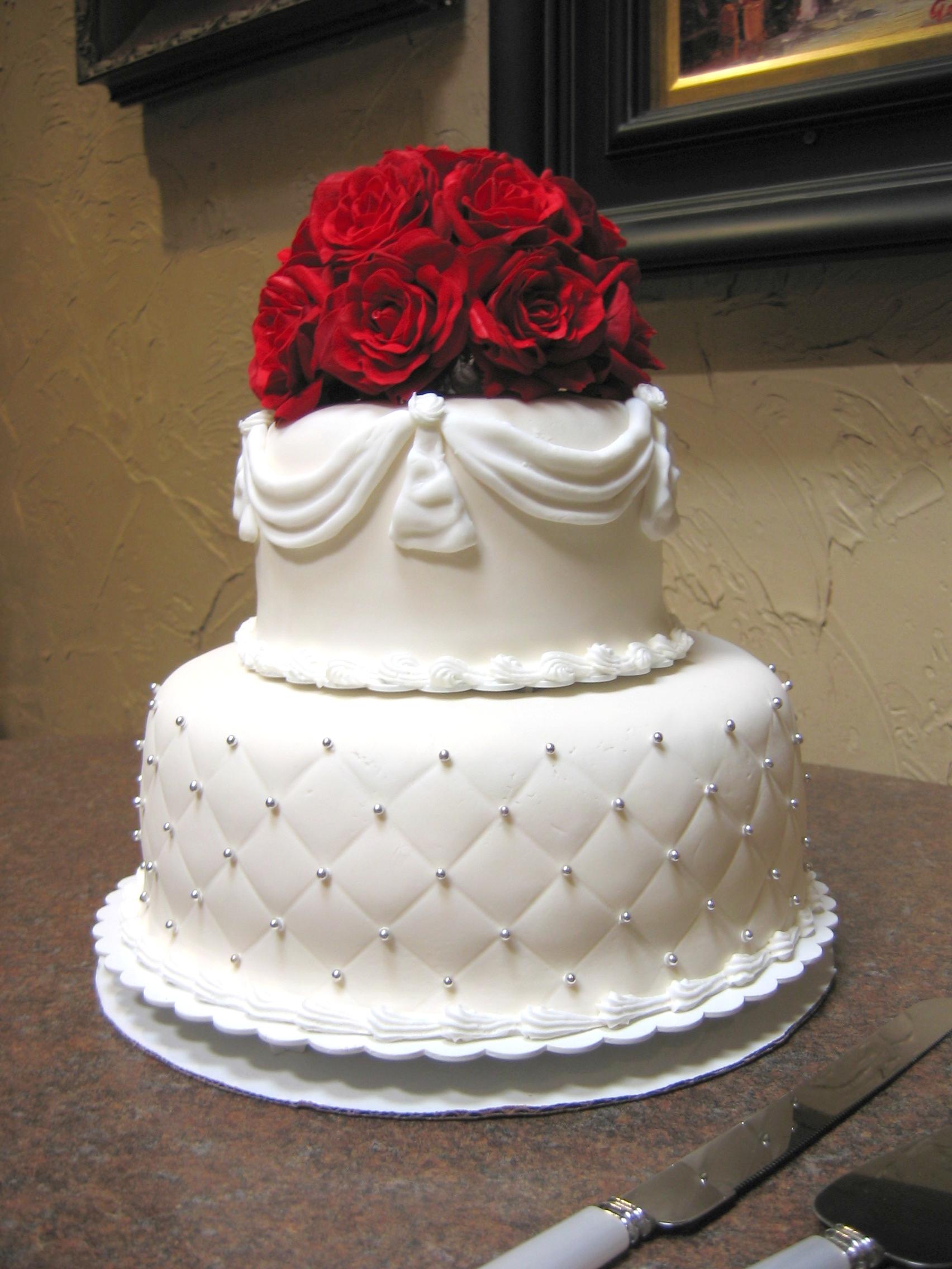 13 Small Wedding Cakes Designs Photo Simple Wedding Cake Ideas