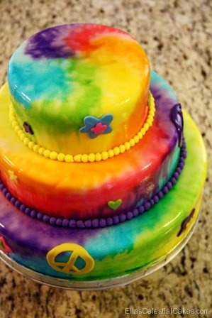Miraculous 13 Tye Dye Birthday Cakes 15 Years Old Photo Tie Dye Birthday Personalised Birthday Cards Petedlily Jamesorg