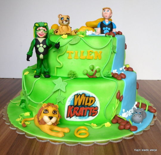 Awe Inspiring 9 Wild Kratts Themed Cupcakes Photo Wild Kratts Animals Wild Personalised Birthday Cards Akebfashionlily Jamesorg