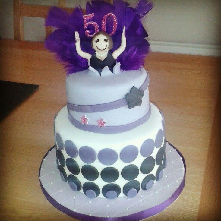 Woman 50th Birthday Cake Ideas