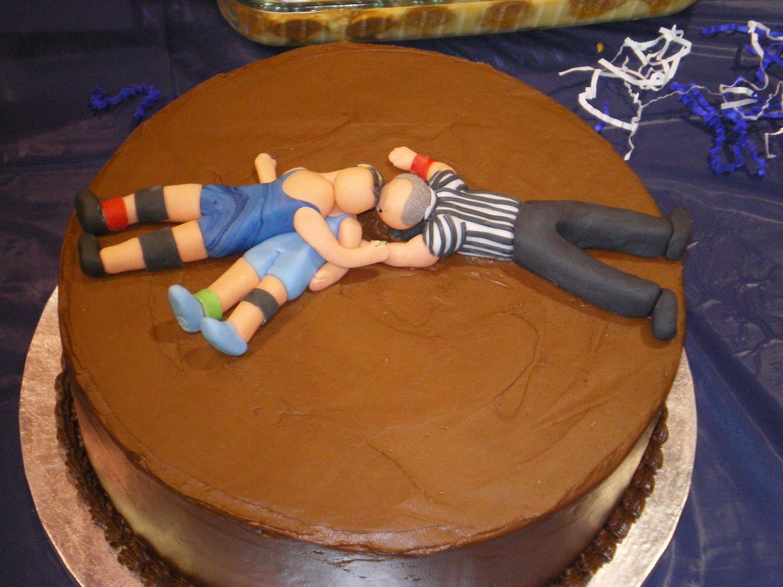 12 Wrestling Banquet Cakes Photo High School Wrestling Cake Ideas