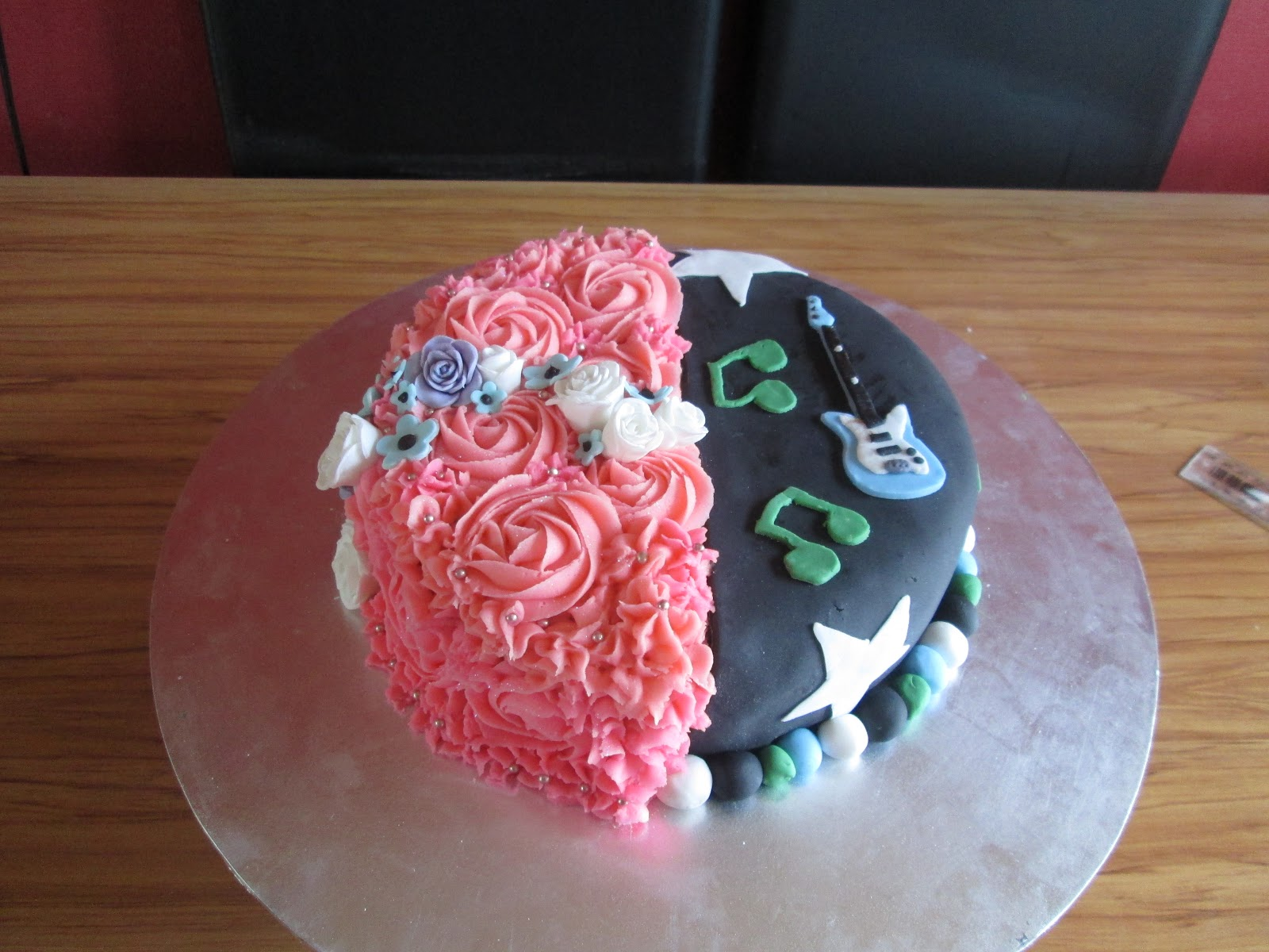 Astounding 6 Half Boy And Girl Birthday Cakes Photo Half Boy Half Girl Personalised Birthday Cards Paralily Jamesorg