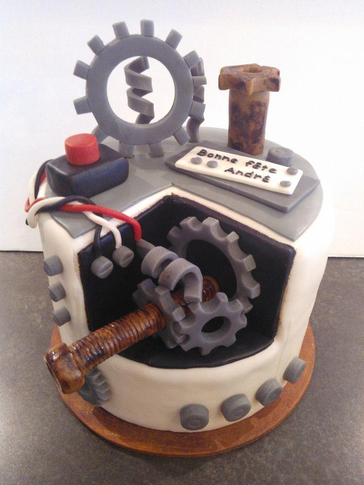 13 Industrial Engineering Cakes Photo - Engineer Cake Ideas, Civil ...
