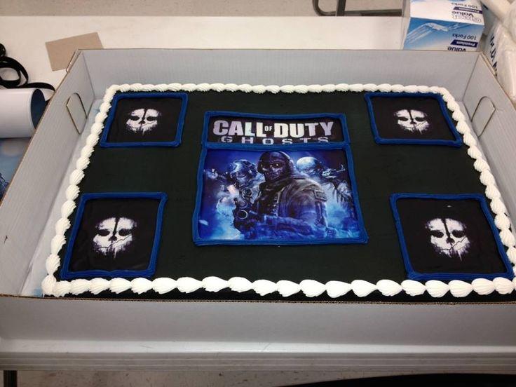 Call Of Duty Birthday Cake Walmart