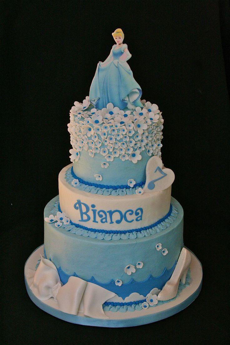Astonishing 11 Cinderella Bday Cakes Photo Cinderella Birthday Cake Funny Birthday Cards Online Inifofree Goldxyz