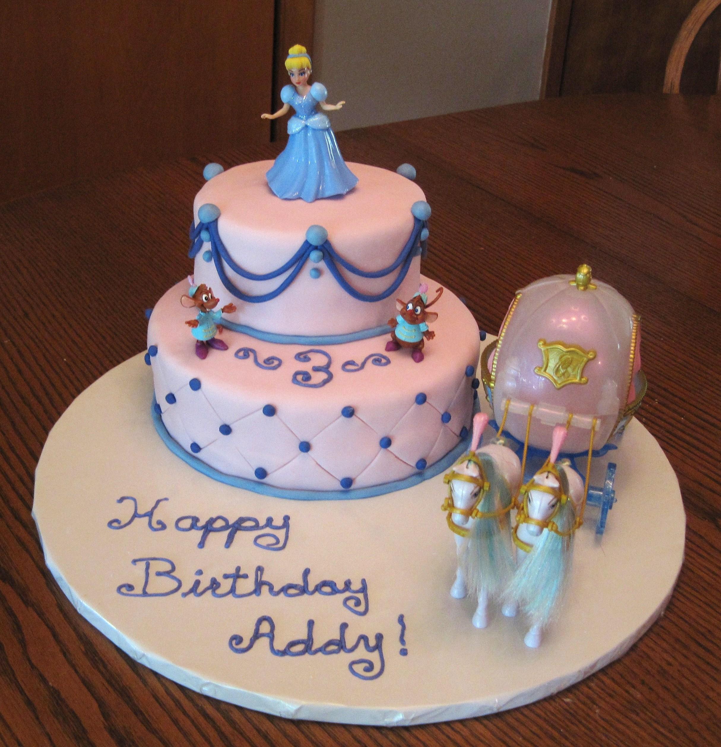 Admirable 11 Cinderella Bday Cakes Photo Cinderella Birthday Cake Personalised Birthday Cards Petedlily Jamesorg
