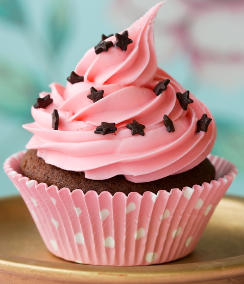 12 Pretty Icing On Cupcakes Photo Pretty Pink Cupcakes