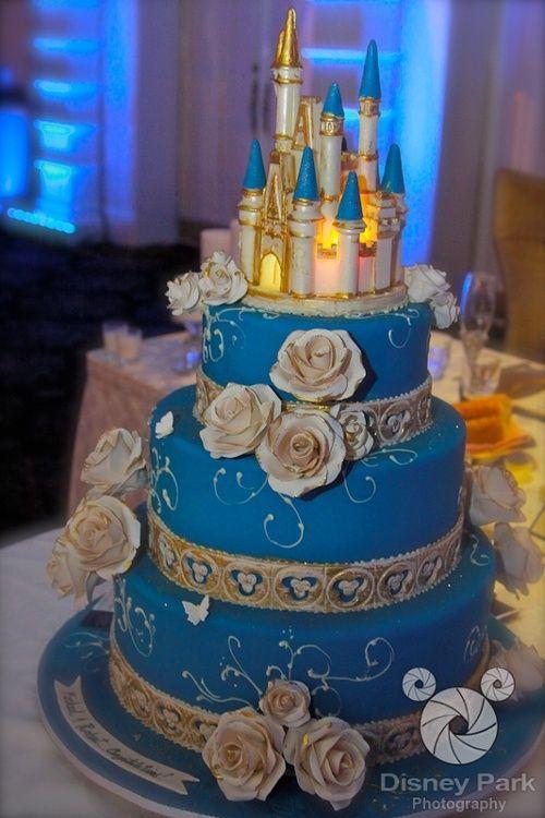 Astounding 10 Magic Castle Birthday Cakes Photo Disney Cinderella Castle Funny Birthday Cards Online Fluifree Goldxyz