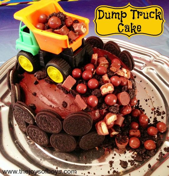 Construction Truck Cakes