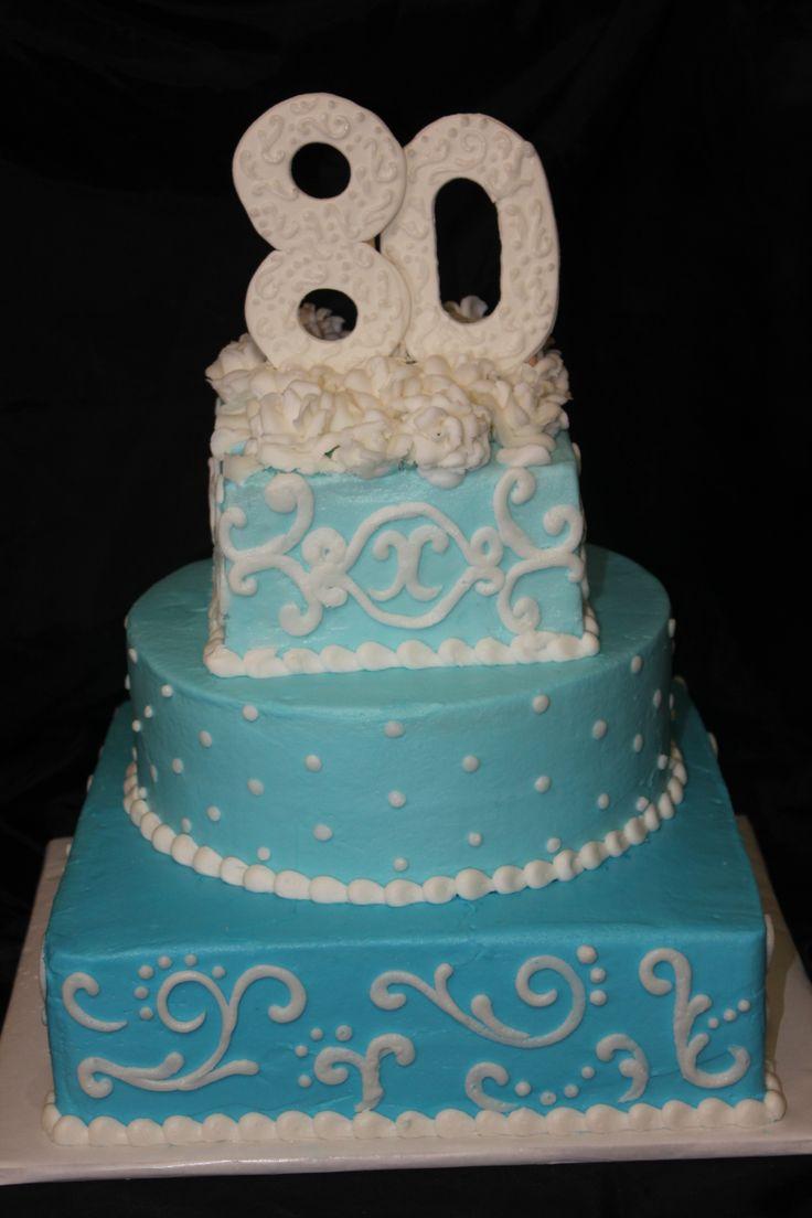 11 80th Birthday Cakes For Women Photo Woman Birthday Cake Ideas