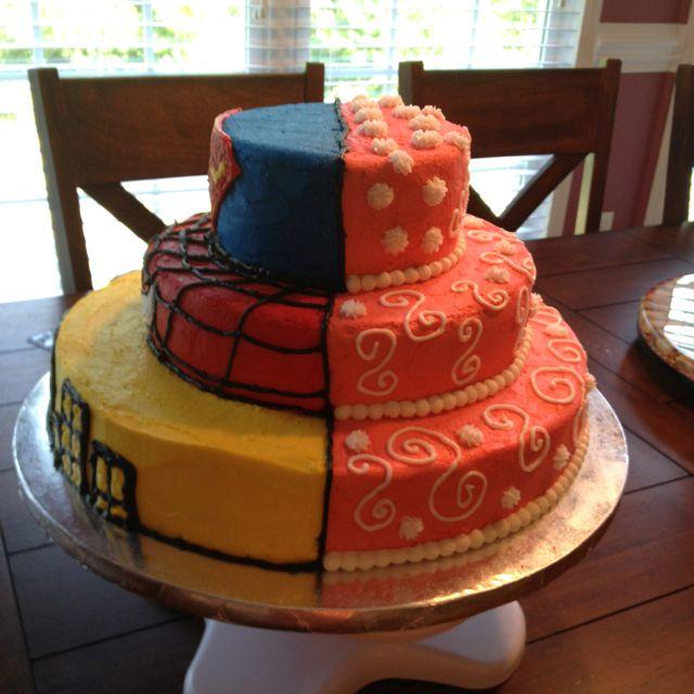 6 Half Boy And Girl Birthday Cakes Photo Half Boy Half Girl