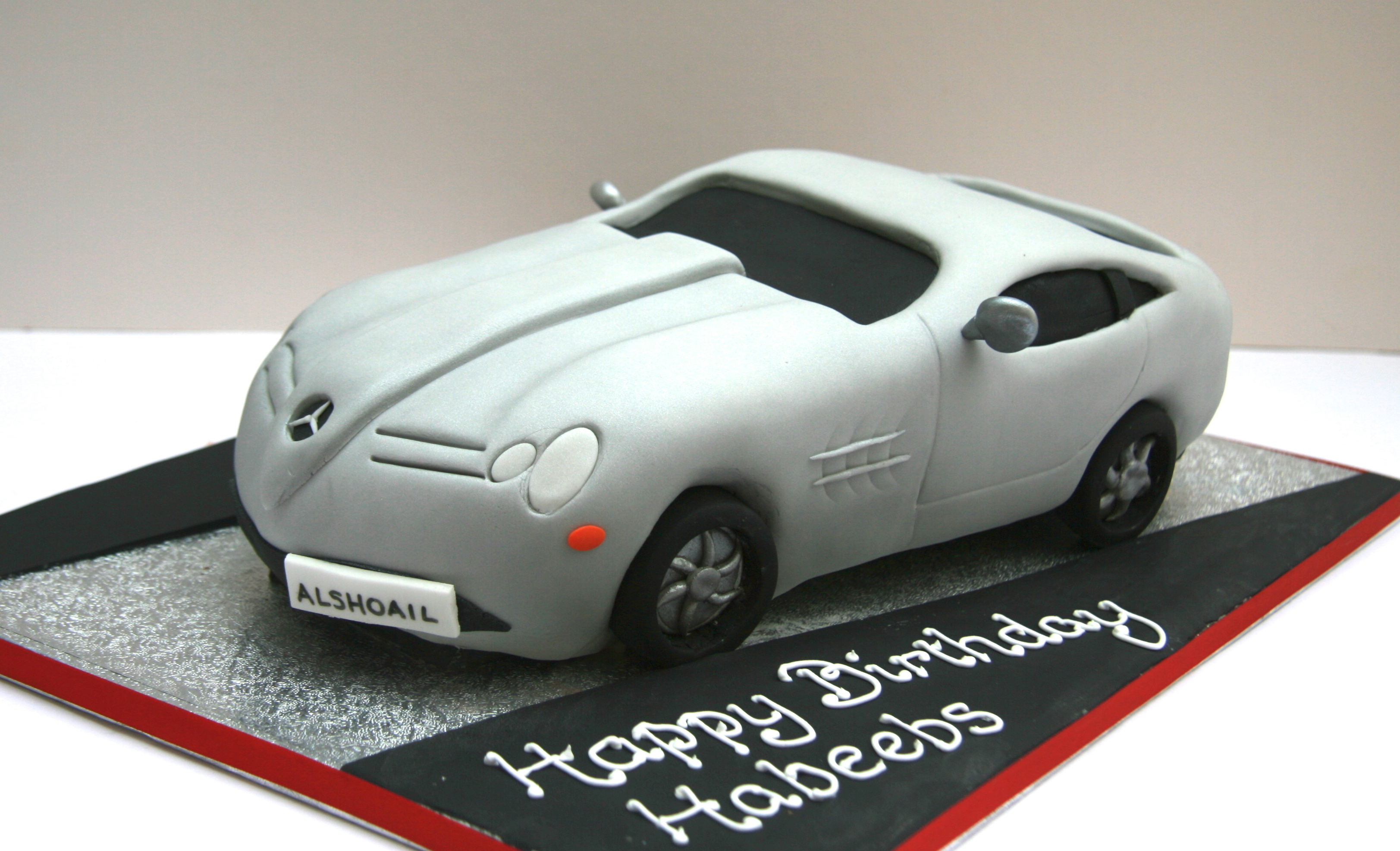 9 Mercedes Adult Birthday Cakes For Men Photo Mercedes