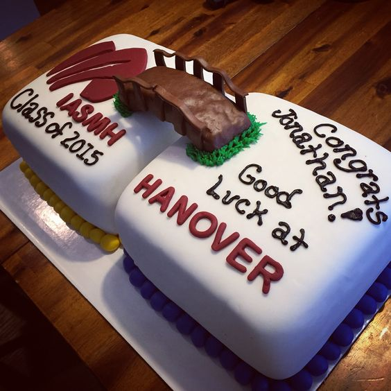 High School Graduation Cake Ideas