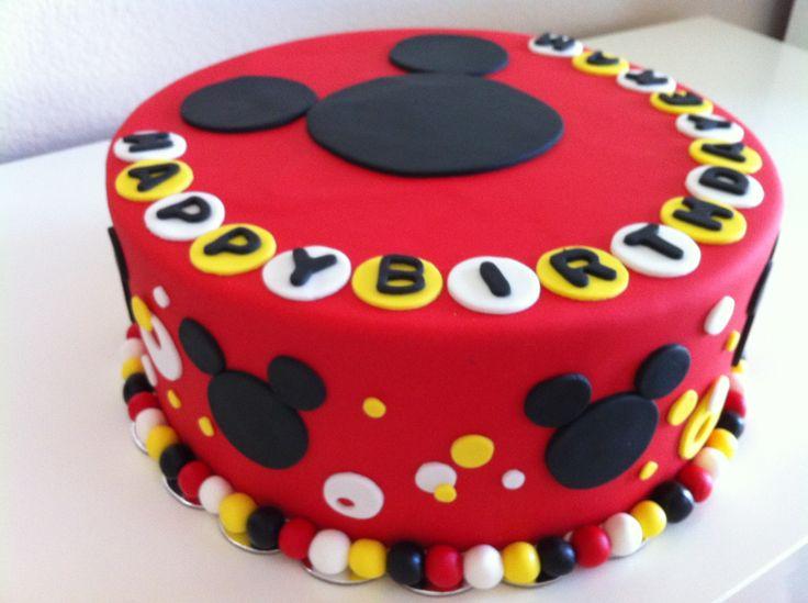7 Heb Birthday Cakes For Boys Photo Mickey Mouse Birthday Cake