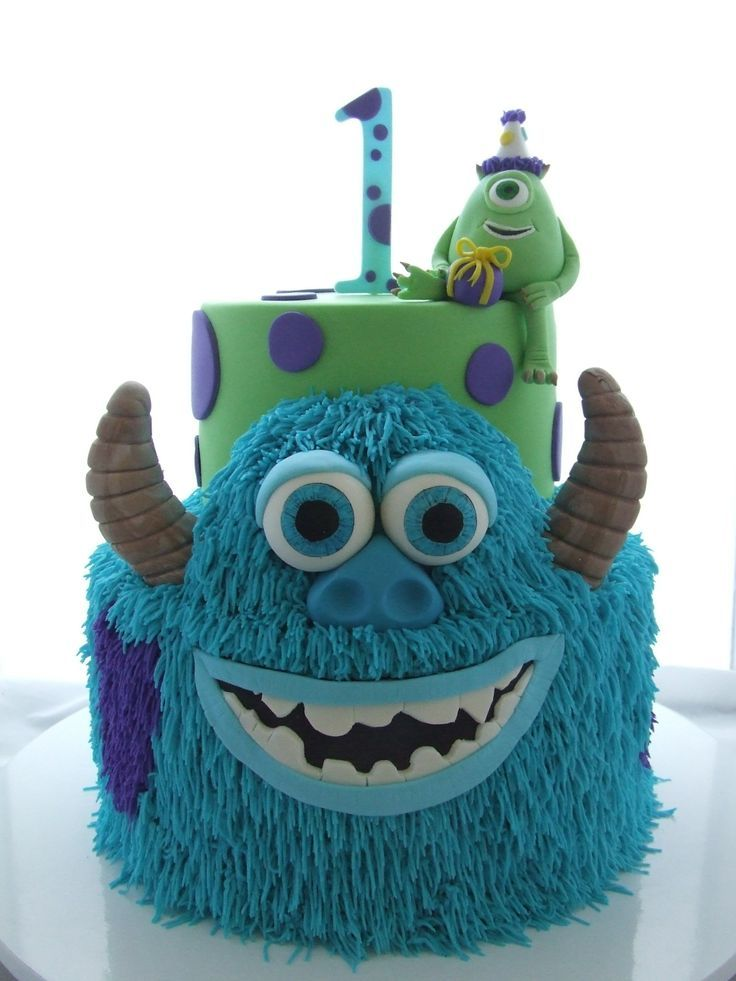 Amazing 11 Monsters Inc Birthday Cakes Photo Monsters Inc Birthday Cake Funny Birthday Cards Online Unhofree Goldxyz