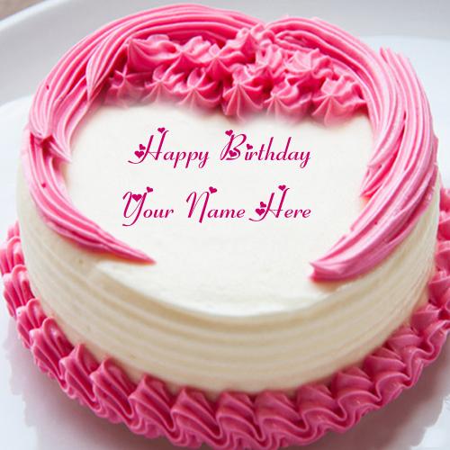 Name On Birthday Cake