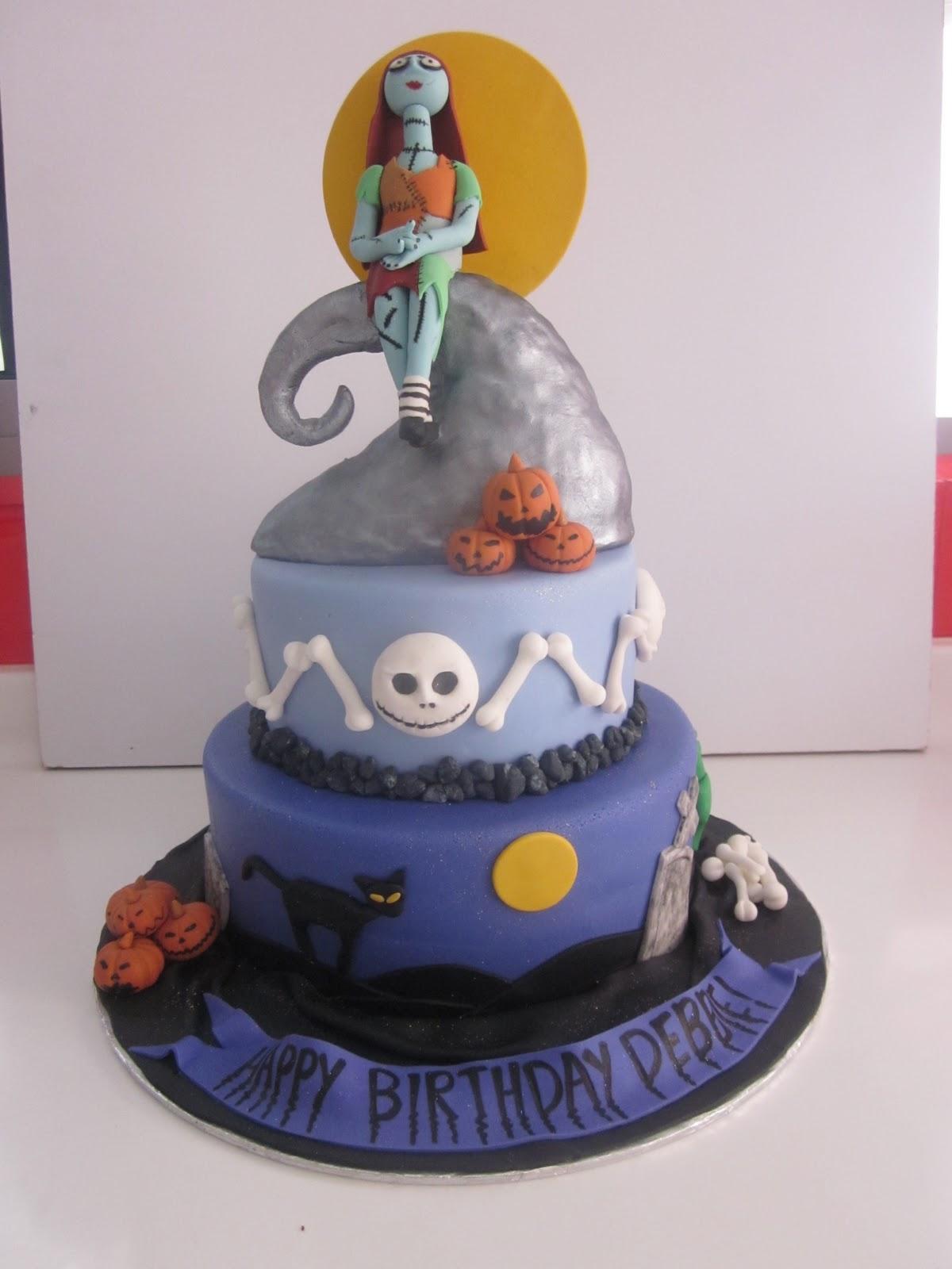 5 Sally Nightmare Before Christmas Birthday Cakes Photo Nightmare