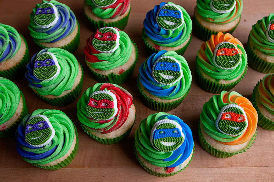 Ninja Turtle Cupcake Cake Walmart