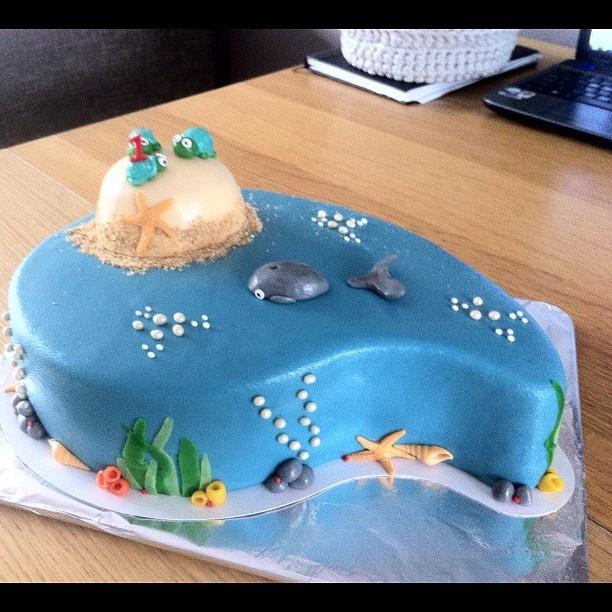 10 Teen Birthday Cakes Ocean Photo Panda Birthday Cake Ideas