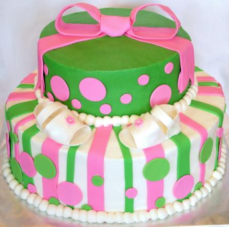 Pink And Green Baby Shower Cupcakes Driveeapusedmotorhomefo