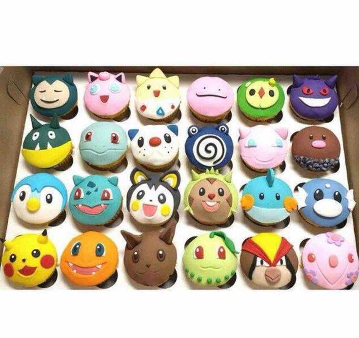 Fabulous 8 Pokemon Trophy Cupcakes And Party Photo Pokemon Birthday Cake Funny Birthday Cards Online Eattedamsfinfo