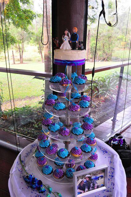 Wedding Cakes Turquoise And Purple - 5000+ Simple Wedding Cakes