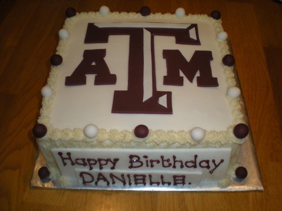 Excellent 10 Fondant Cake Graduation Cakes Texas A M Photo Texas Aggie Personalised Birthday Cards Veneteletsinfo