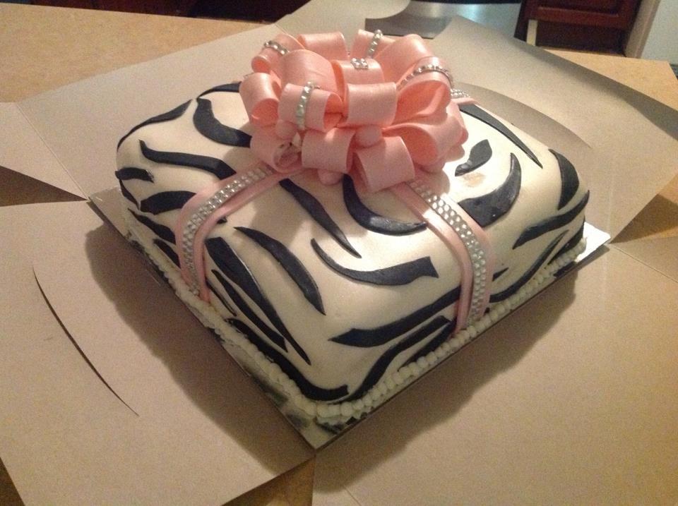 12 Camo Zebra Print Cakes Photo Zebra Print Birthday Cake Zebra