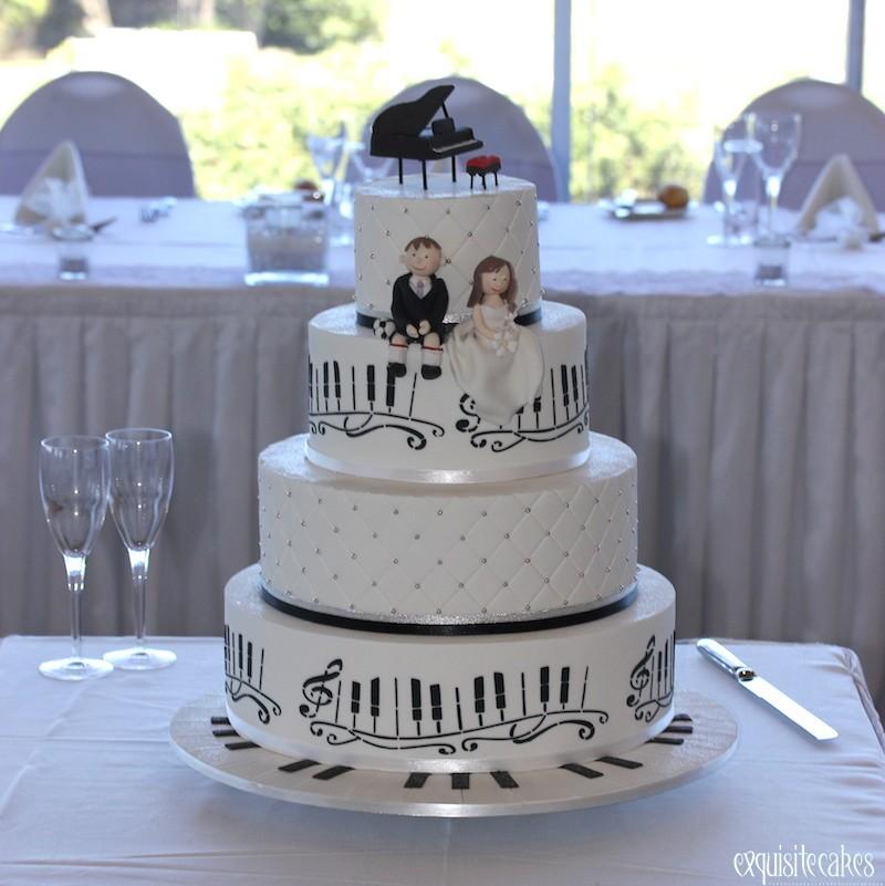 Music Wedding Cake Inviwall