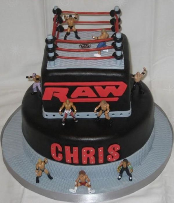 Fine 11 Best Birthday Cakes Wwe Photo Wwe Birthday Cake Ideas Wwe Personalised Birthday Cards Akebfashionlily Jamesorg