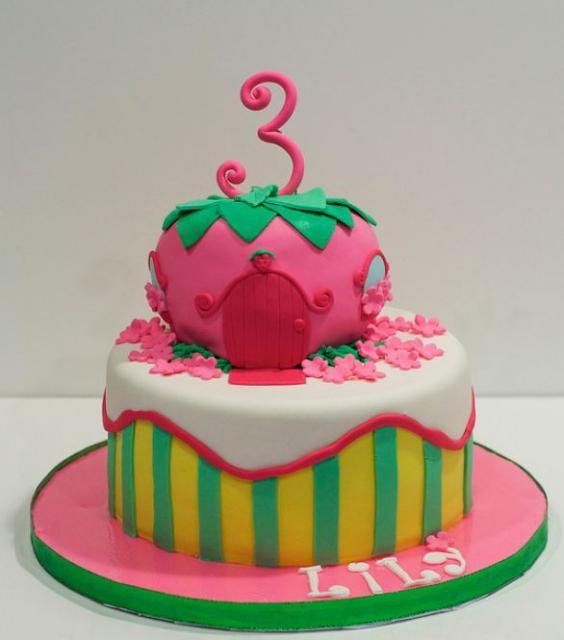 10 3 Girls Cakes Photo 3 Year Birthday Cake 3 Year Old Girl