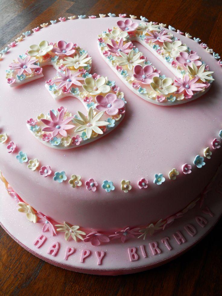 8 30 Happy Birthday Cakes Photo