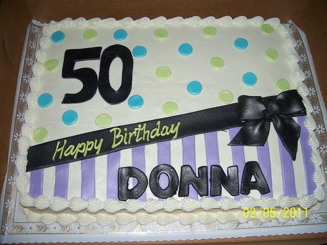 12 50th Birthday Cakes Half Sheet Photo 50th Birthday Sheet Cakes